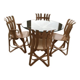 Frank Gehry Dining Set For Sale