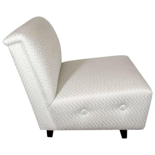 Art Deco Hollywood Regency Billy Haines Style Slipper Chair For Sale