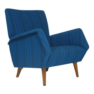 Gio Ponti Model 803 Mid Century Italian Lounge Chair For Sale