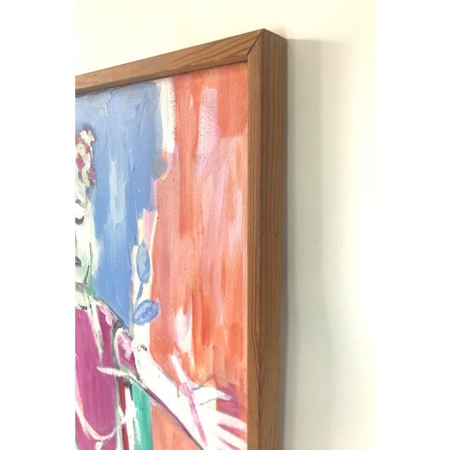 "Canvas Original JoAnn Crisp Ellert ""The Approach to the Taj Mahal, Agra, India"", 2003 For Sale - Image 7 of 13"