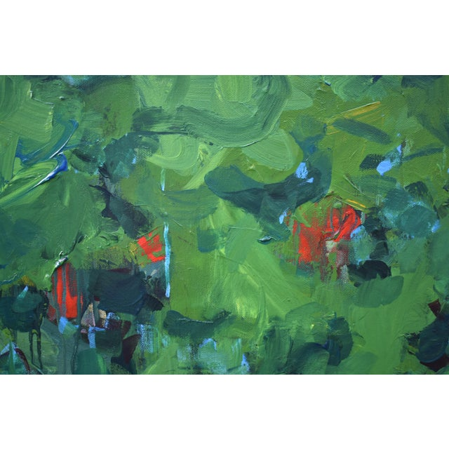 Stephen Remick Lush Garden by Stephen Remick For Sale - Image 4 of 12