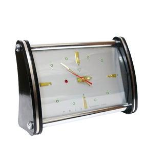 Vintage Shanghai China Diamond Space Age Alarm Clock For Sale