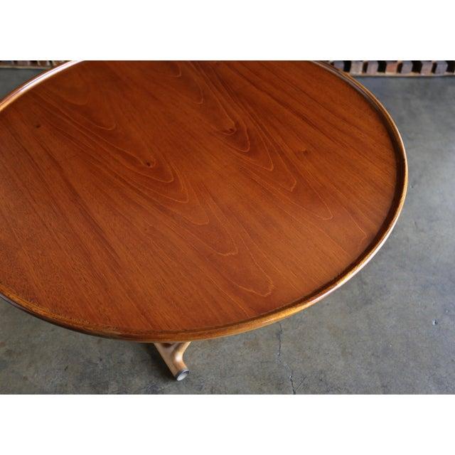1950s Danish Modern Mogens Lassen for A.J. Iversen Center Table For Sale - Image 12 of 13