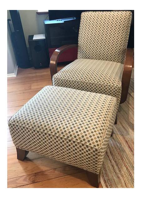 Thomasville Chair U0026 Ottoman Set   A Pair   Image 1 ...