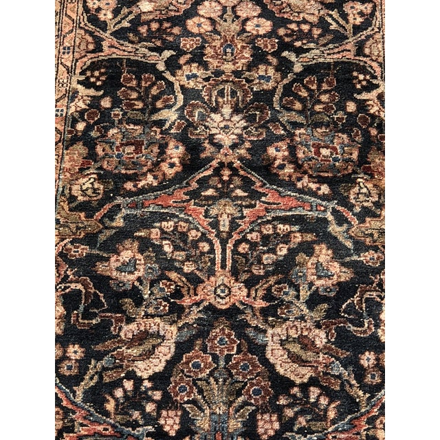 """Islamic 1960s Persian Malayer Wool Runner - 3'5""""x19'4"""" For Sale - Image 3 of 13"""