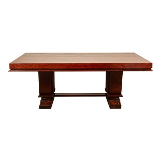 1930's Indo-Chinese Art Deco Dining Table For Sale