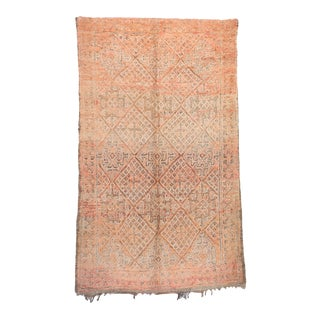 """Beni M'Guild Vintage Moroccan Rug, 5'10"""" X 9'10"""" For Sale"""