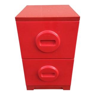 1970's Vintage Akro-Mils Storage Filing Cabinet For Sale