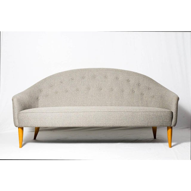 """Kerstin Hörlin-Holmquist """"Paradise"""" sofa designed in 1958 and produced by Nordiska Kompaniet. Note: We have a matching..."""