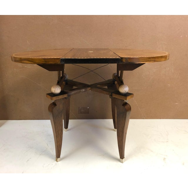 Émile-Jacques Ruhlmann 1930s French Art Deco Adjustable Table For Sale - Image 4 of 11