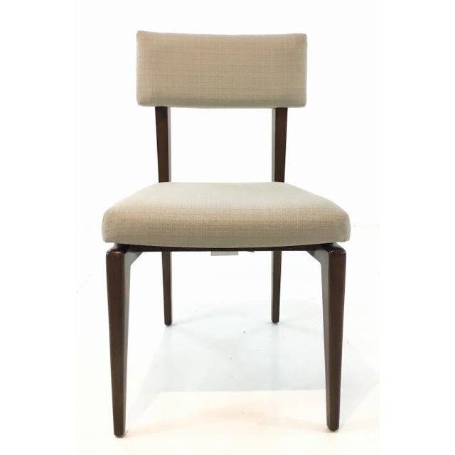 Fabric Danish Modern Style Sena Dining Chair By: Thomasville For Sale - Image 7 of 7