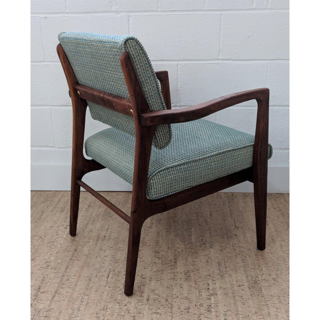 1960s Restored Vintage Armchair For Sale In Raleigh - Image 6 of 11