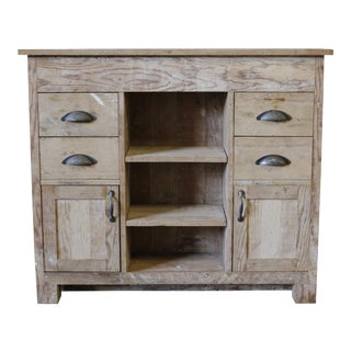 Rustic Reclaimed Wood Cabinet