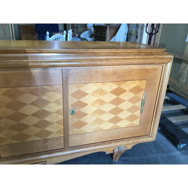 1930s Vintage French Art Deco Credenza For Sale In New York - Image 6 of 9