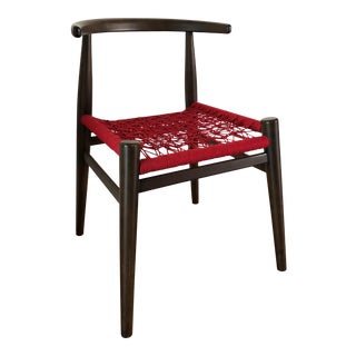 West Elm Modern Red Accent Chair