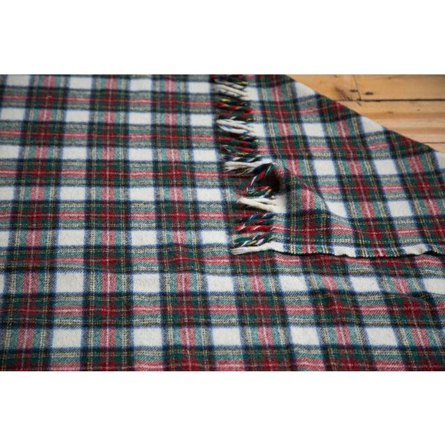 Vintage Plaid Blanket - Image 3 of 6