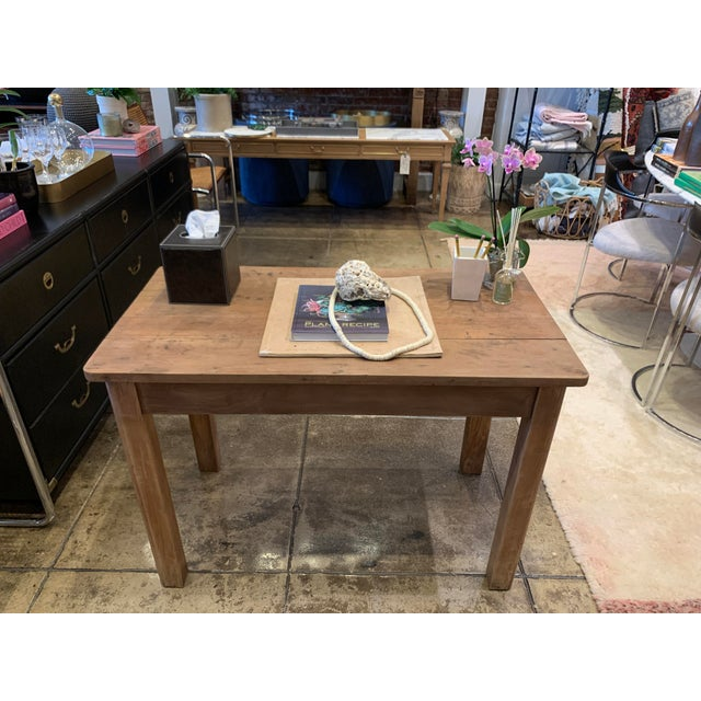 Antique French Farm Table For Sale - Image 11 of 12