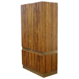Vintage Milo Baughman Thayer Coggin Rosewood Wardrobe For Sale