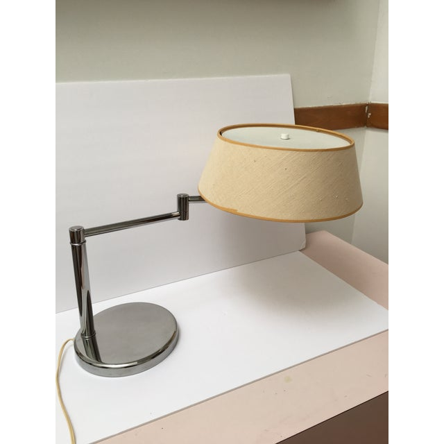 Mid-Century Modern Van Nesson Chrome Mid-Century Swing Arm Desk Lamp For Sale - Image 3 of 6