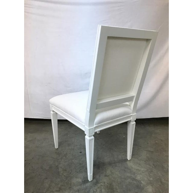 Traditional Highland House Jansen Side Chair For Sale - Image 3 of 4