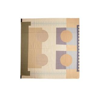 "Vintage Contemporary Kilim Square Rug - 7'10"" X 8'2"" For Sale"