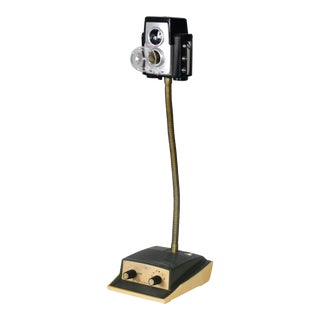 Vintage Kodak Brownie Lamp Original Attributed to Artist to JdoubleC For Sale