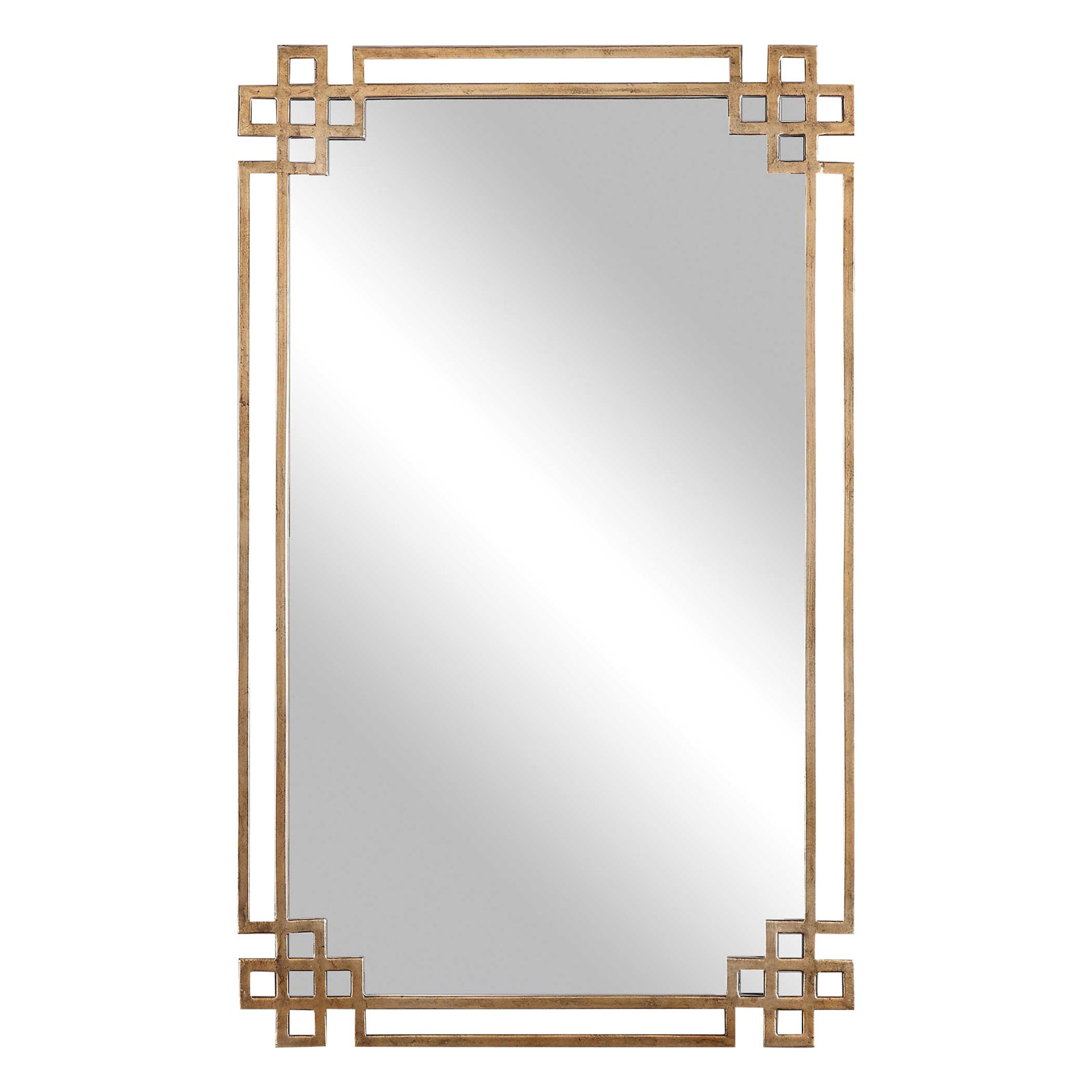 Gold Art Deco Mirror Chairish