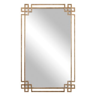Gold Art Deco Mirror For Sale