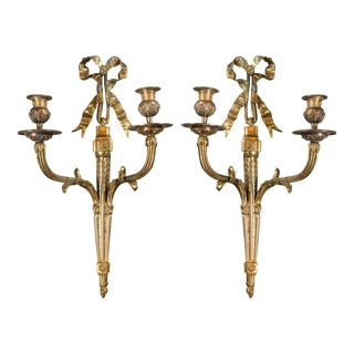 1900's Caldwell Gilt Bronze Scones - a Pair For Sale