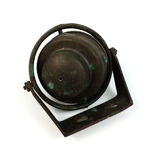 Brass Ritchie Marine Wall Mount Compass For Sale - Image 5 of 5