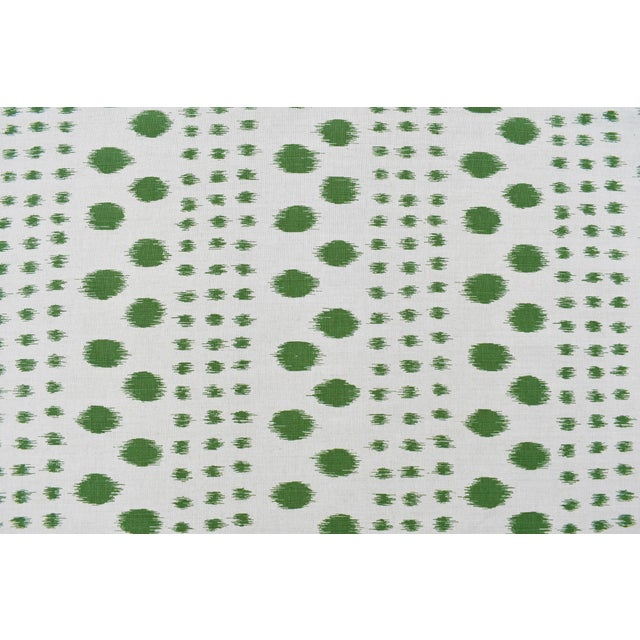Virginia Kraft Polkat Fabric, 3 Yards in Forest For Sale