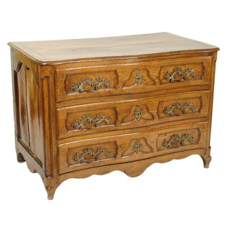 18th Century Louis XV Provincial Commode For Sale