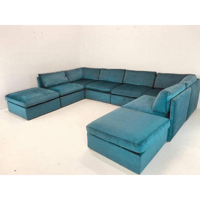 Milo Baughman Modular Sofa For Sale In Dallas - Image 6 of 12