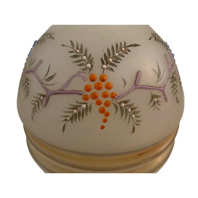 Victorian Opaline Vase For Sale - Image 4 of 7