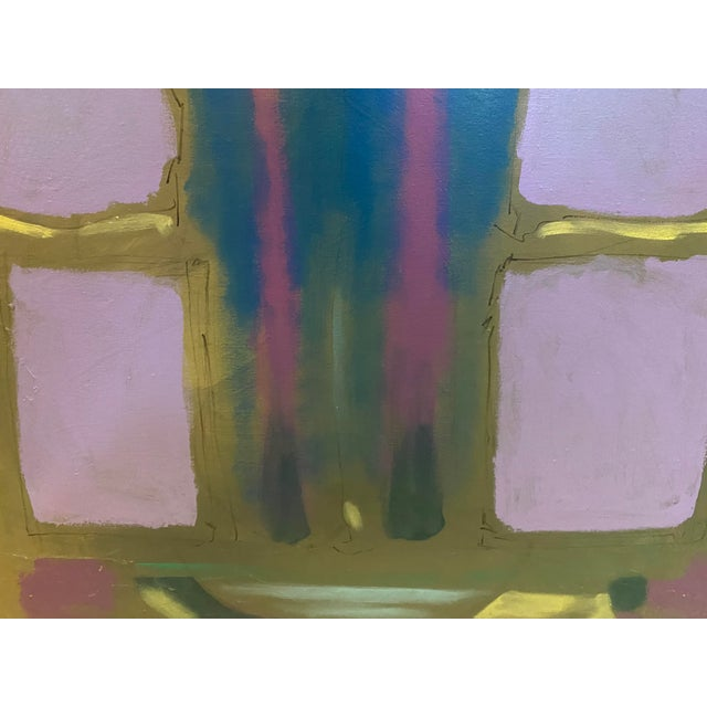 Contemporary Abstract Oil Painting For Sale - Image 4 of 6