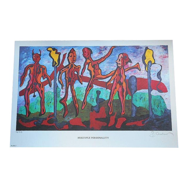 George Andreas Signed Ltd. Ed. Lithograph For Sale