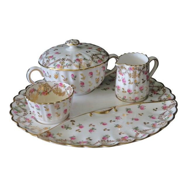 Vintage Antique Spode Copeland Stoke-Upon-Trent England Tiffany and Co. Company Tea Set For Sale