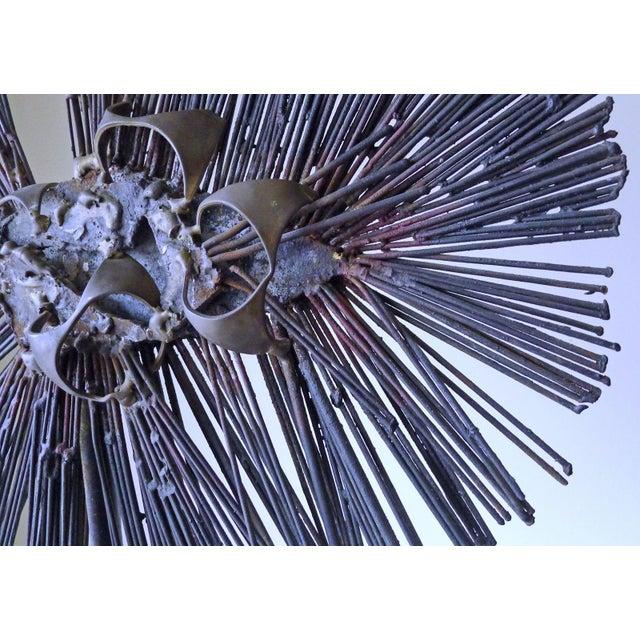 Vintage Mexican Brutalist Welded Sculpture - Image 9 of 11