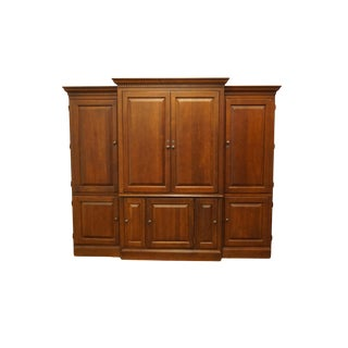 Hooker Furniture Valentino Collection Cherry Cabinet For Sale