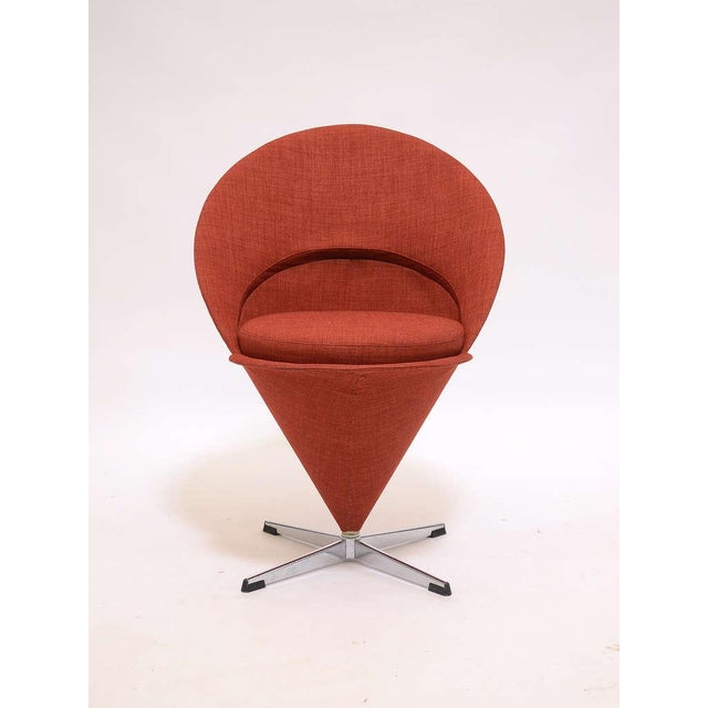 Plus-Linje Cone chair by Verner Panton For Sale - Image 4 of 9