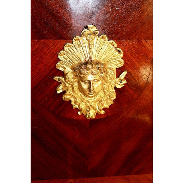 Antique French Ferdinand Marcos Estate Desk For Sale - Image 10 of 10