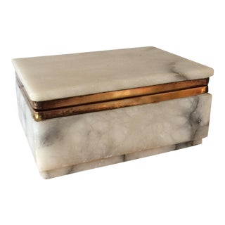 Marble Treasure Box