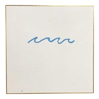 "John O'Hara. Wave 1. 49x49"" Encaustic Painting For Sale"