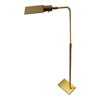 1970s Koch & Lowy Brass Floor Lamp For Sale