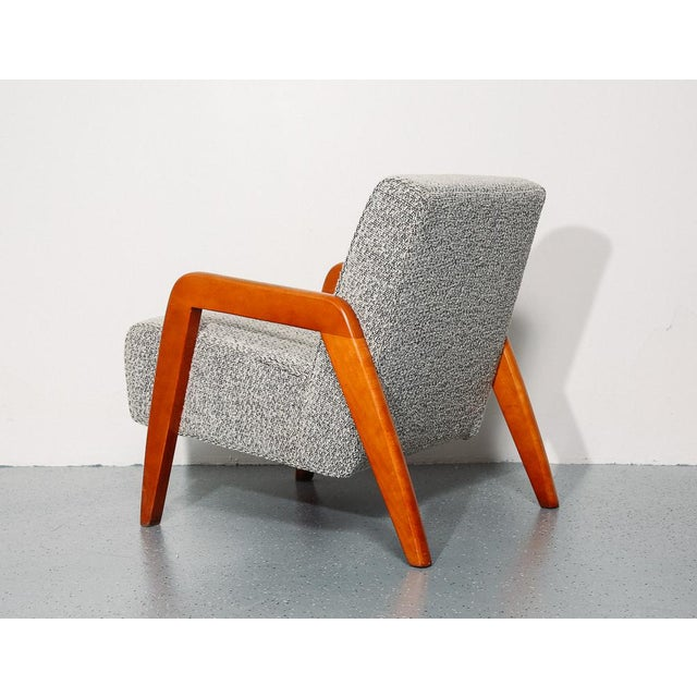 1950s Russel Wright Slipper Chair For Sale - Image 5 of 9