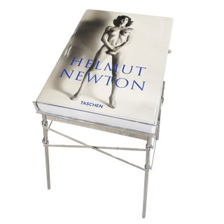 Helmut Newton Sumo Book on Philippe Starck Chrome Stand For Sale