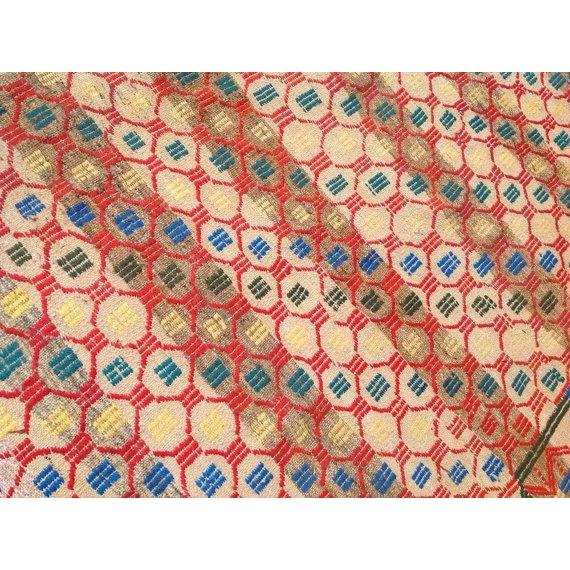 Vintage Turkish Kilim Rug - 7′5″ × 9′1″ - Image 5 of 6