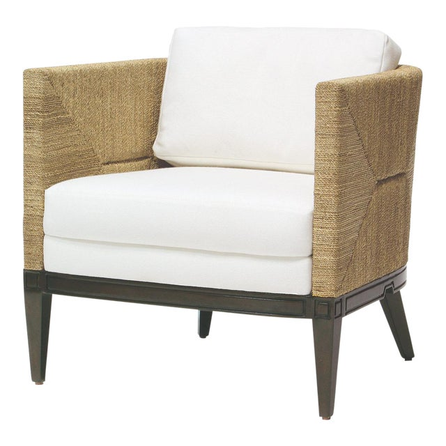 Cameron Lounge Chair by Palacek For Sale