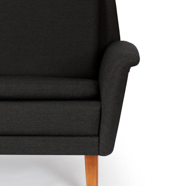 Dux Danish Modern Black Sofa & Lounge Chair - 2 Pc. Set For Sale - Image 11 of 13