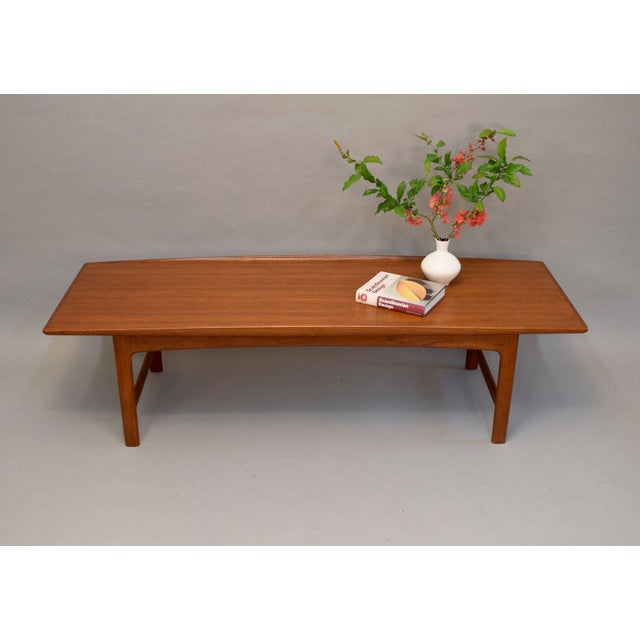 Dux Folke Ohlsson Sculptural Teak Coffee Table - Image 5 of 11